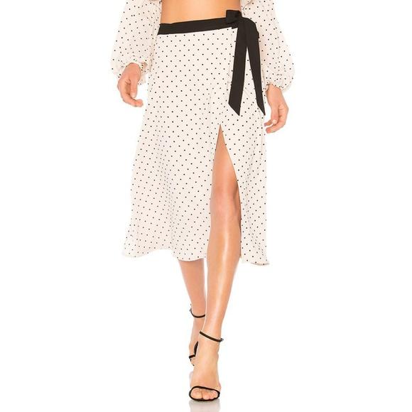 00fcfb2dd1e5e3 Lovers + Friends Dresses & Skirts - Lovers + Friends Jules Polka Dot Skirt